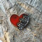 Magnesy na lodówkę magnes,ceramika,handmade,sensual studio,serce