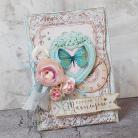 Kartki okolicznościowe dla mamy,kwiaty,serce,serduszko,motyl