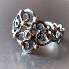 Pierścionki srebrno złoty pierścionek,pierścionek z diamentem