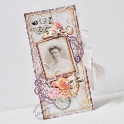czekoladownik,dzień babci - Kartki okolicznościowe - Akcesoria