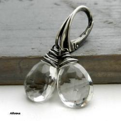 kryształowe kolczyki,eleganckie kolczyki - Kolczyki - Biżuteria