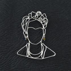 srebrna broszka,minimalistyczna broszka - Broszki - Biżuteria
