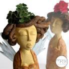 Ceramika i szkło ogród,aniołek,święta