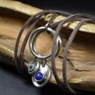 Naszyjniki naszyjnik z lapis lazuli,niebieski naszyjnik