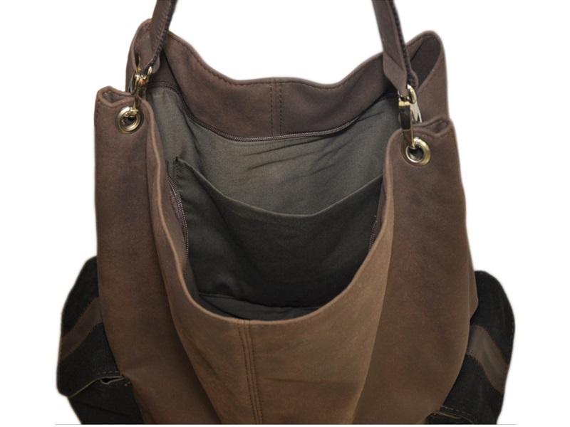 de14ae3a390b7 ... Na ramię torba worek,duże torby damskie duża torebka worek ...