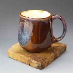 ceramiczny kubek,szkliwa krystaliczne - Ceramika i szkło - Wyposażenie wnętrz