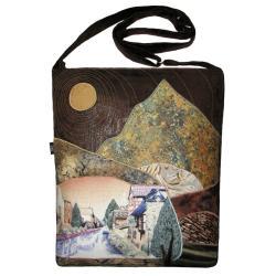 krajobraz,pejzaż,torba prezent,góry,unikalna - Do ręki - Torebki