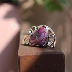romantyczny,kobiecy,ekskluzywny,wire-wrapping, - Pierścionki - Biżuteria