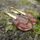 Kolczyki Kolczyki z radiolariami Blush Rose