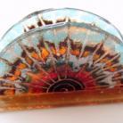 Ceramika i szkło serwetnik,szkło,fusing