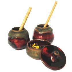 czarki,pojemnik,ceramika,użytkowe,unikat,herbata - Ceramika i szkło - Wyposażenie wnętrz