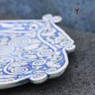 Ceramika i szkło patera,unikat,rękodzieło,ceramika
