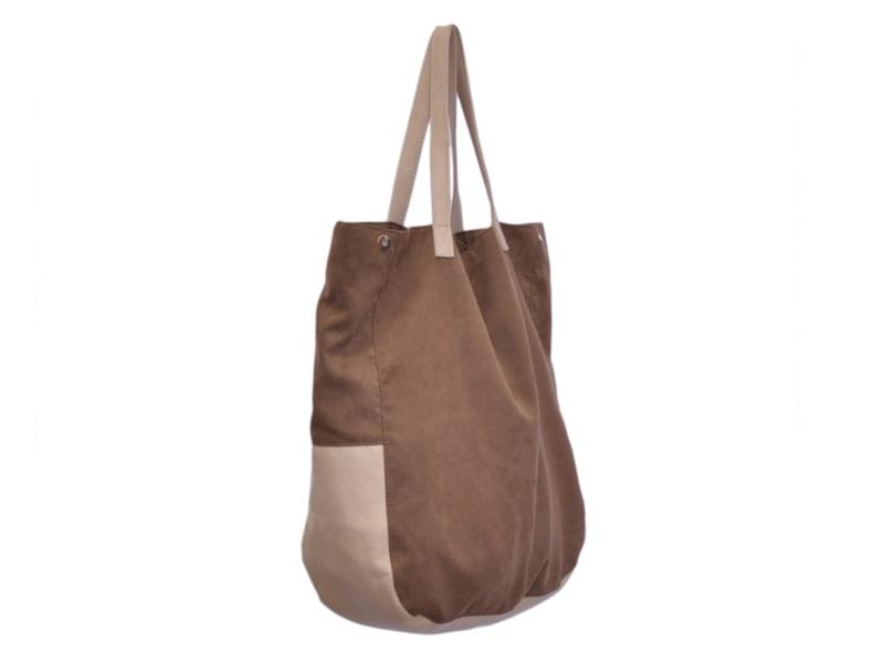 001758a338ca5 modne duże torebki worki na zakupy torby zakupowe - Na ramię ...