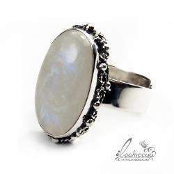 regulowany pierścionek,srebrny pierścionek,retro - Pierścionki - Biżuteria