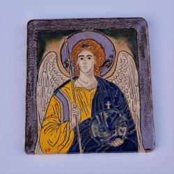 Beata Kmieć,ikona,obraz,anioł,ceramika - Ceramika i szkło - Wyposażenie wnętrz