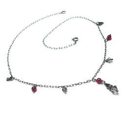 delikatny,choker - Naszyjniki - Biżuteria