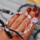 Bransoletki bransoletka,wieczorowa,perły,swarovski,srebro