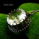 Naszyjniki Nehesi,Naszyjnik,wisior,srebrny,kryształem