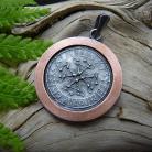 Wisiory srebrny,miedziany,celtycki,talizman,amulet