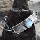 Bransoletki kamień księżycowy,moonstone,surowy,kuty