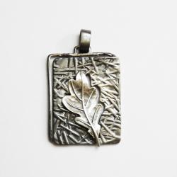 srebro,oksyda,wisior - Wisiory - Biżuteria