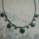 Naszyjniki zielony,na zielono,zielonooka,Rivendell