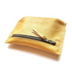 handmade,skóra,etui,skórzane,kopertówka,złote, - Etui - Dodatki