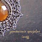 Pierścionki koronkowy pierścionek z kamieniem księżycowym