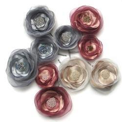 wzuwki,kwiaty,romantyczne,do włosów, - Do włosów - Biżuteria