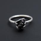Pierścionki meteoryt,pierścionek,srebrny,surowy