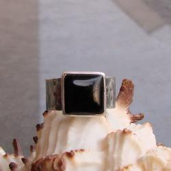 prosty,surowy,sygnet - Pierścionki - Biżuteria