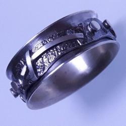 różaniec ze srebra - Pierścionki - Biżuteria