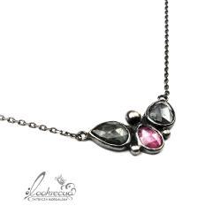 letni,wyjątkowy,niepowtarzalny,różany,oryginal - Naszyjniki - Biżuteria