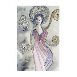 anioł,kobieta,wnętrze,na ścianę,obraz,prezent - Ilustracje, rysunki, fotografia - Wyposażenie wnętrz