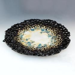 patera,talerz,prezent,ceramika,design - Ceramika i szkło - Wyposażenie wnętrz
