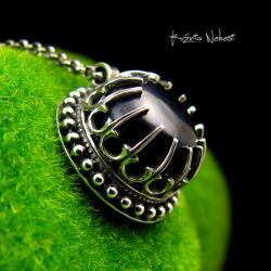 Nehesi,Naszyjnik,wisior,srebrny,perła - Naszyjniki - Biżuteria