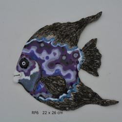 Beata Kmieć,szkliwo,glina,ceramika,ryba - Herbatnice - Wyposażenie wnętrz