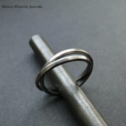 srebro,slim,obrączki - Pierścionki - Biżuteria