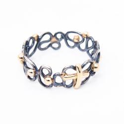unikatowy,różaniec na palec,pierścionek różaniec - Pierścionki - Biżuteria