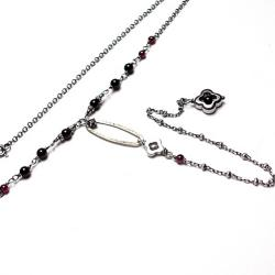 delikatny,łańcuszek - Naszyjniki - Biżuteria