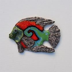 Beata Kmieć,dekor,obraz,ryba,ceramika - Ceramika i szkło - Wyposażenie wnętrz
