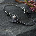 Bransoletki srebrna,minimalistyczna bransoleta,alabama