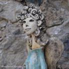 Ceramika i szkło anioł,figurka,dekoracja,wystrój,wnętrze,rękodzieło