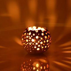 lampion,świecznik,światło,art - Ceramika i szkło - Wyposażenie wnętrz