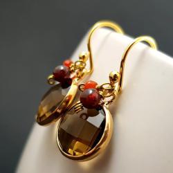 eleganckie,lekkie,wiszące,modne,trendy - Kolczyki - Biżuteria