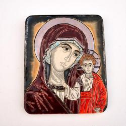 Beata Kmieć,ikona,ceramika,obraz,Maryja - Ceramika i szkło - Wyposażenie wnętrz