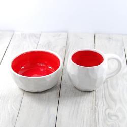 kubek,kubek ceramiczna,ceramika,miska - Ceramika i szkło - Wyposażenie wnętrz