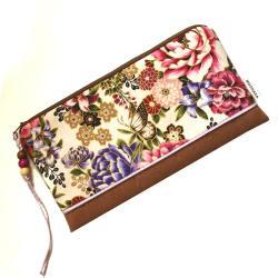 saszetka,etui,kosmetyczka,kwiatowa,motyle,prezent - Etui - Dodatki