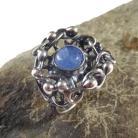 Pierścionki kyanit,blask,srebrny,delikatny,niebieski,srebro