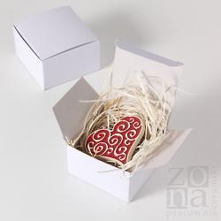 serce,magnes,prezent,dekoracja,ceramika - Ceramika i szkło - Wyposażenie wnętrz